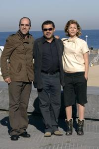Luis Tosar, Antonio Chavarias and Najwa Nimri at the 54th San Sebastian Film Festival.