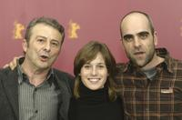 Juan Diego, Marta Etura and Luis Tosar at the 54th annual Berlin International Film Festival.