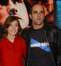 Marta Etura and Luis Tosar at the premiere of