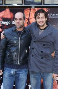 Luis Tosar and Juan Diego Botto at the Madrid photocall of