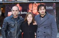 Luis Tosar, Marta Etura and Juan Diego Botto at the photo shoot of
