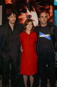 Juan Diego Botto, Marta Etura and Luis Tosar at the Madrid photocall of