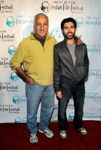 Brian George and Jaffer Mahmood at the world premiere of