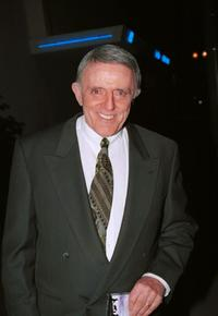 John Astin at the premiere after-party of