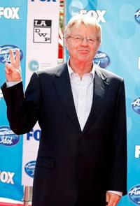 Jerry Springer at the American Idol Season 7 Grand Finale.
