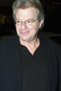Jerry Springer at the screening of