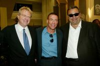 Jerry Springer, Jean-Claude Van Damme and Director Philippe Martinez at the photocall and screening of