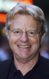 Jerry Springer at the UK premiere of