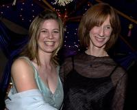 Meredith Hunter and Mary Stein at the Baron Entertainment Anniversary party.