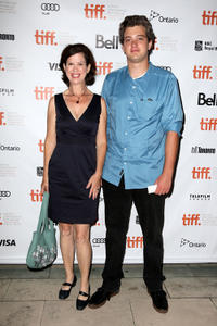 Catherine Fitch and Mark DeBonis at the premiere of