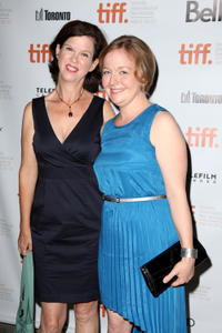 Catherine Fitch and Director Kate Melville at the premiere of