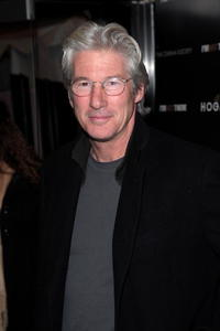 Actor Richard Gere at the N.Y. premiere of