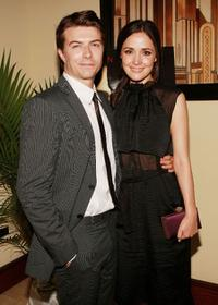 Noah Bean and Rose Byrne at the after party of the premiere of