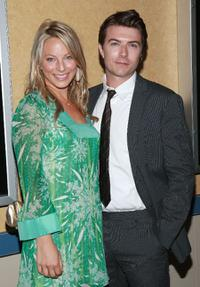 Anastasia Griffith and Noah Bean at the premiere of