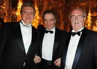 Alexei Kudrin, Valery Gergiev and Christophe de Margerie at the Montblanc White Nights Festival.
