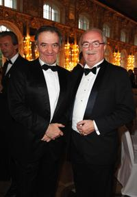 Valery Gergiev and Christophe de Margerie at the Montblanc White Nights Festival.