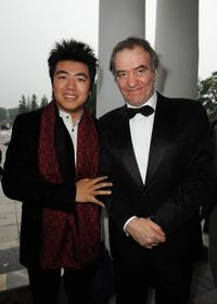 Lang Lang and Valery Gergiev at the Montblanc White Nights Festival.