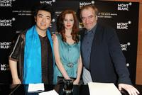 Lang Lang, Eva Green and Valery Gergiev at the Montblanc White Nights Festival.