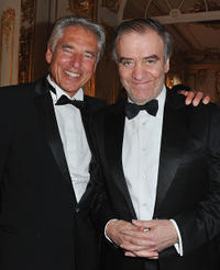 Nestle CEO Peter Brabeck and Valery Gergiev at the Montblanc New Voices Award 2011 in Russia.