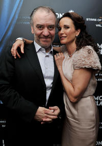 Valery Gergiev and Andie MacDowell at the Montblanc New Voices Award 2011 in Russia.