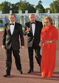 Valery Gergiev, Guest and Valentina Matviyenko at the Montblanc White Nights Festival.