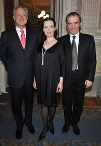 Lutz Bethge, Anastasia Kalagina and Valery Gergiev at the Montblanc White Nights Festival.