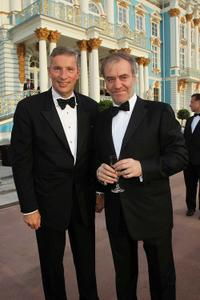 Klaus Kleinfeld and Valery Gergiev at the Mariinsky Ball of Montblanc White Nights Festival.