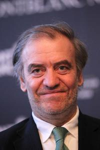 Valery Gergiev at the Montblanc New Voices at Stars of the White Nights press conference.