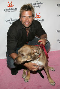 David Chokachi at the Best Friends Animal Society's annual fund-raiser