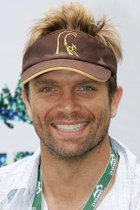 David Chokachi at the Natural Resource Defense Council's Day of Discovery in California.