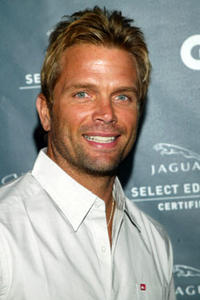 David Chokachi arrives at GQ magazine's 'The Roof Is On Fire' party at the Museum of Television and Radio August 23, 2005 in Beverly Hills, California.