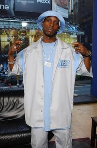 DMX at the MTV Times Square Studios.