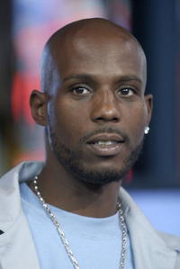 DMX at the MTV TRL in the MTV Times Square Studios.