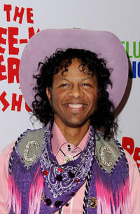 Phil LaMarr at the opening night of