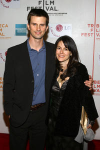 Fred Weller and Ali Marsh at the New York premiere of
