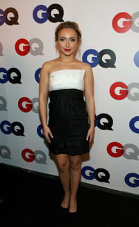 Hayden Panettiere at the GQ 2007 Men Of The Year celebration in Hollywood.