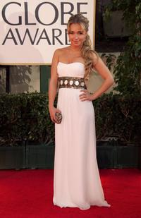Hayden Panettiere at the 64th Annual Golden Globe Awards.
