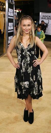 Hayden Panettiere at the premiere of