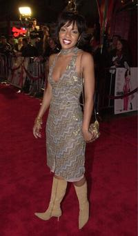 Wendy Raquel Robinson at the premiere of
