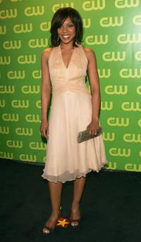 Wendy Raquel Robinson at the CW Television Network Upfront.
