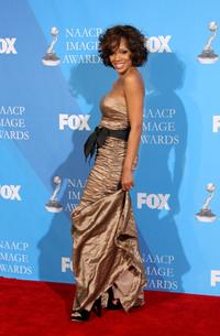 Wendy Raquel Robinson at the 39th NAACP Image Awards.