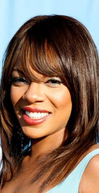 Wendy Raquel Robinson at the 38th annual NAACP Image Awards.