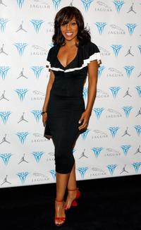Wendy Raquel Robinson at the Launch Party of Jordan Melo M4.