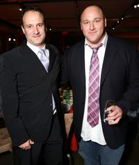 Roger Kumble and Will Sasso at the after party of the premiere of