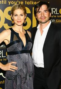Kelly Rutherford and Matthew Settle at the launch party of