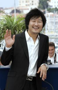 Song Kang-ho at the photocall of