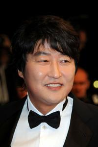 Song Kang-ho at the premiere of