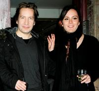 Ronan Vibert and Rachael Stirling at the after party of