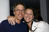 Greg Germann and Camryn Manheim attend an Evening with Gore Vidal at the home of Paul Alan Smith.