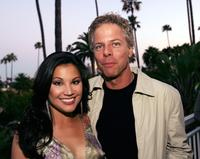 Victoria Recano and Greg Germann at the opening of